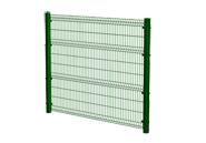 Забор из панелей покрытых ПВХ